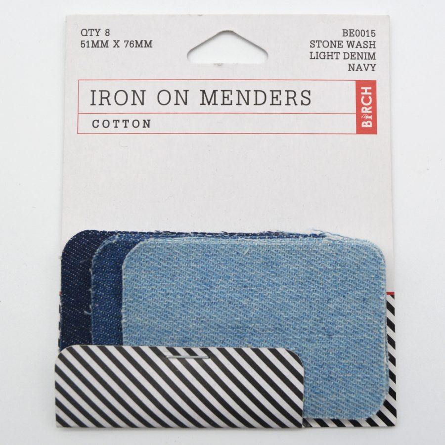 Iron on Menders