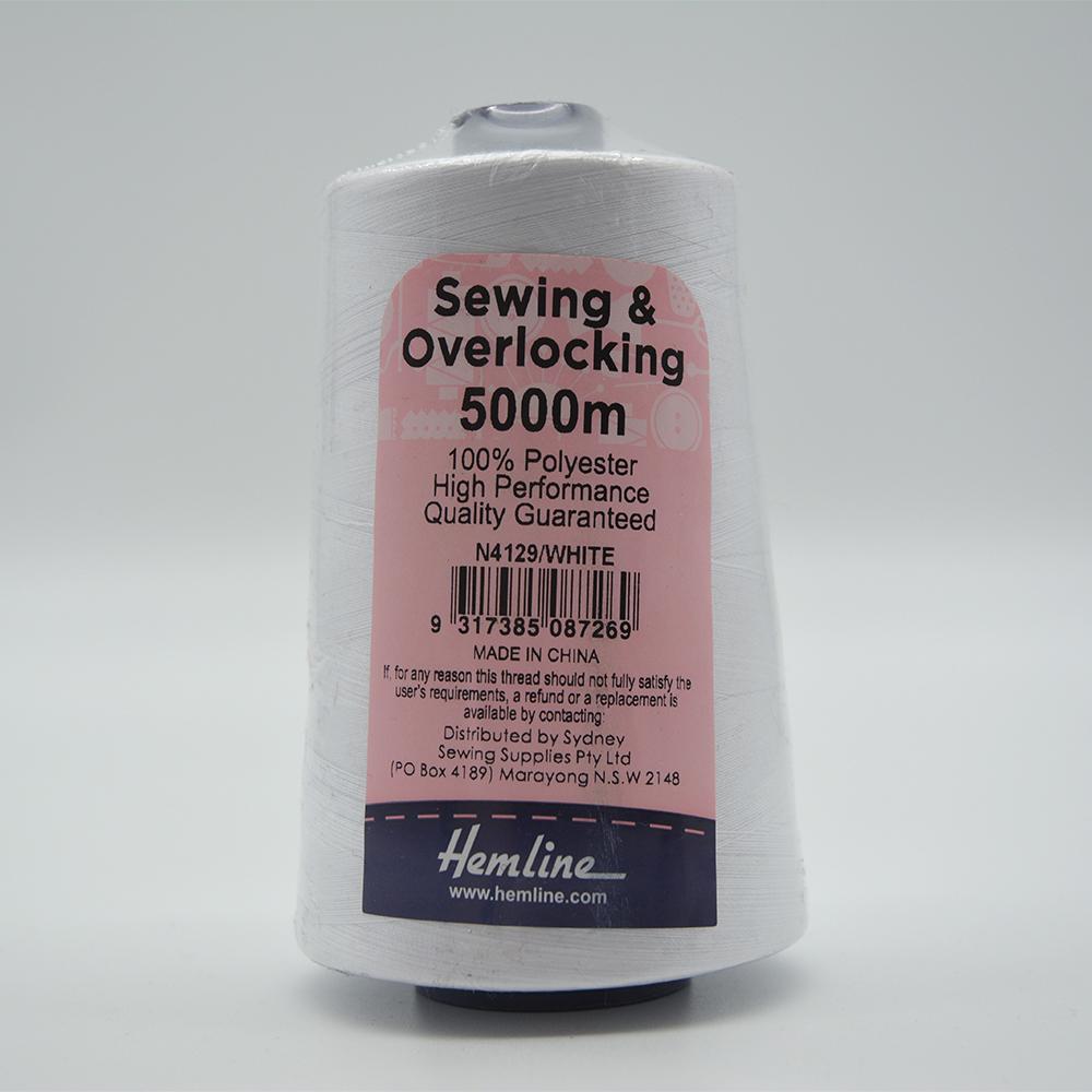 Overlocking Thread - Pack of 4 5000m
