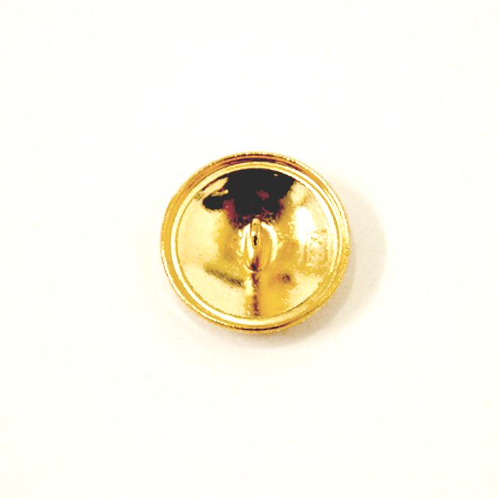 Balmain Gold Crest Button 20mm