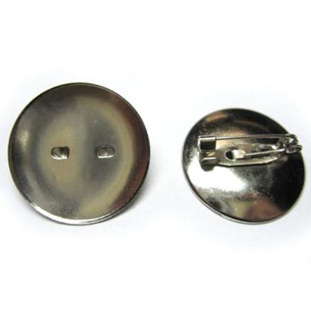 Circular Brooch Back - Small